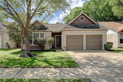 Houston Single Family Home For Sale: 8039 Trail Side Drive