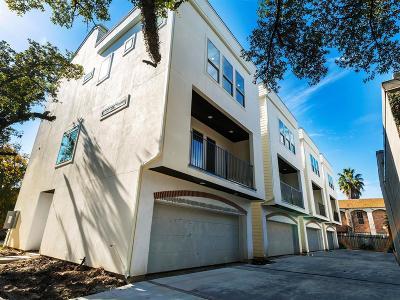 Montrose Condo/Townhouse For Sale: 4504 Mount Vernon Street #B