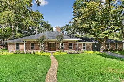 Houston Single Family Home For Sale: 7 Warrenton Drive