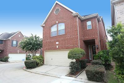 Houston Single Family Home For Sale: 3015 Heritage Creek Terrace