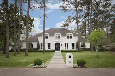 Houston Single Family Home For Sale: 1 Concord Circle