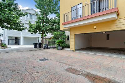 Houston Condo/Townhouse For Sale: 4106 Spencer Street #B