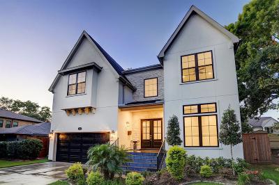 Houston Single Family Home For Sale: 3310 Cloverdale Street
