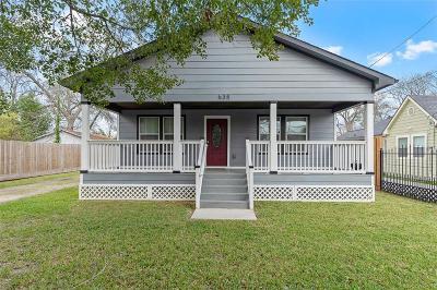 Houston Single Family Home For Sale: 635 Wainwright Street
