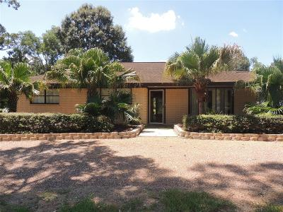 Friendswood Single Family Home For Sale: 604 S Clear Creek Drive