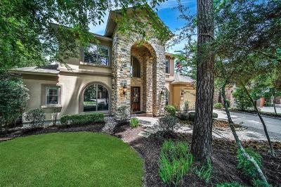 The Woodlands Single Family Home For Sale: 14 E Majestic Woods Place