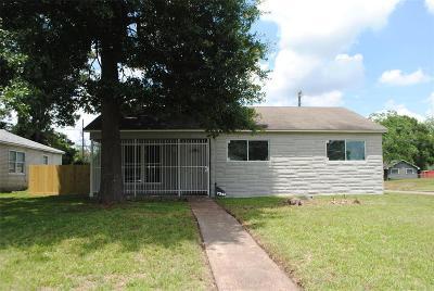 Houston Single Family Home For Sale: 7343 Marilyn Lane