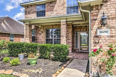Pearland Single Family Home For Sale: 3609 Oak Bent Drive