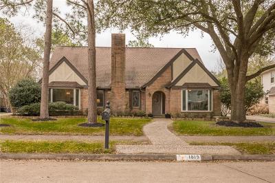 Houston TX Single Family Home For Sale: $422,000