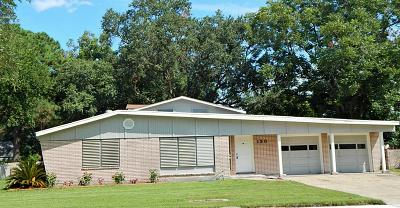 Texas City TX Single Family Home For Sale: $189,900