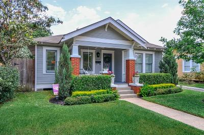 Houston Single Family Home For Sale: 639 E 14th Street