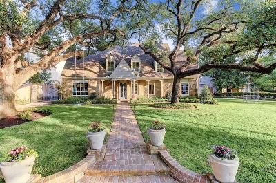 Houston Single Family Home For Sale: 2017 Chilton Road