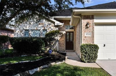Pearland Single Family Home For Sale: 2711 Calico Creek Lane