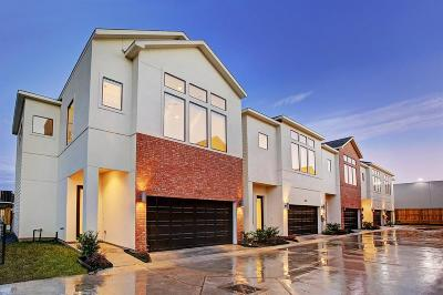 Houston Condo/Townhouse For Sale: 2932 Alice Street