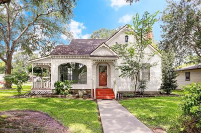 Sealy Single Family Home For Sale: 525 Hardeman Street
