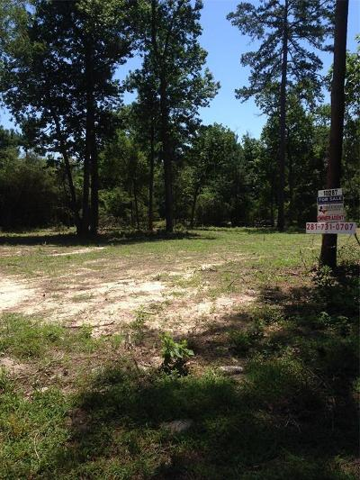 Conroe Residential Lots & Land For Sale: 10287 Wanda Lane