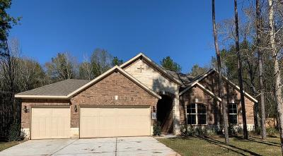 Conroe Single Family Home For Sale: 11234 Quiet Lake Drive