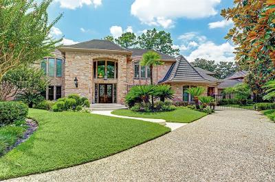 Hunters Creek Village Single Family Home For Sale: 10907 Pama Circle
