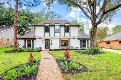 Houston TX Single Family Home For Sale: $480,000