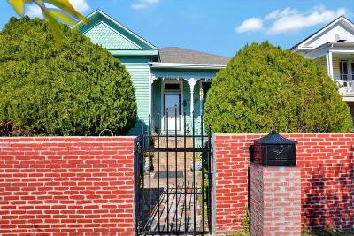 Galveston Single Family Home For Sale: 3618 Avenue M 1/2