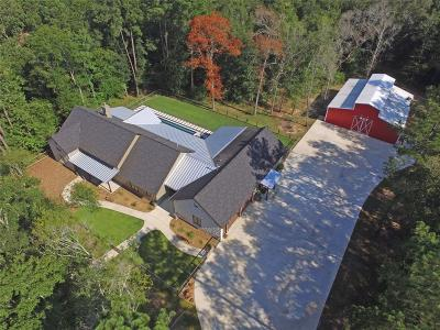 New Caney Single Family Home For Sale: 85 Plum Grove Road
