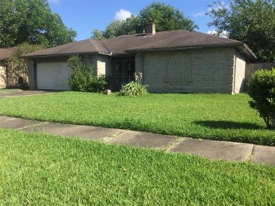 Houston TX Single Family Home For Sale: $82,000