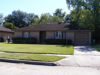 Houston TX Rental For Rent: $1,200