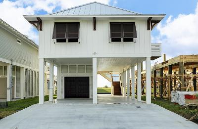 Port Bolivar Single Family Home For Sale: 2033 Nelson Avenue