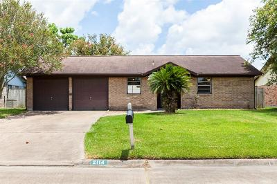 League City TX Single Family Home For Sale: $167,000