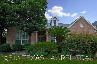 Humble Single Family Home For Sale: 19810 Texas Laurel Trail