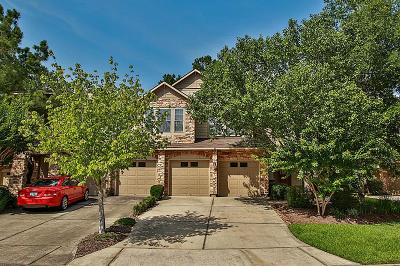 The Woodlands Condo/Townhouse For Sale: 36 Stone Creek Place