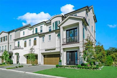 The Woodlands Condo/Townhouse For Sale: 27 Waterton Cove