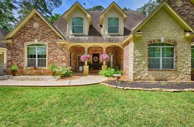 Conroe Single Family Home For Sale: 6 W Lake Forest Court