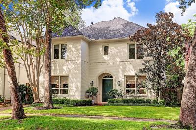 West University Place Single Family Home For Sale: 3808 Southwestern Street