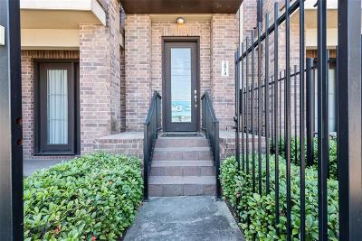 Houston Condo/Townhouse For Sale: 2814 Polk Street