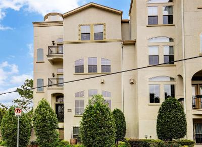 Houston Condo/Townhouse For Sale: 1715 Ridgewood Street