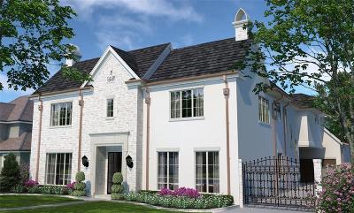 Houston Single Family Home For Sale: 3659 Meadow Lake