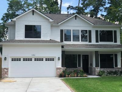 Houston Single Family Home For Sale: 1418 Chamboard