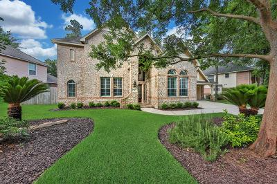 The Woodlands Single Family Home For Sale: 78 N Bluff Creek Circle