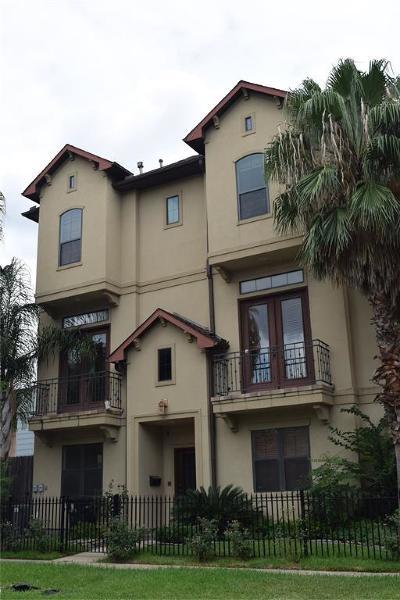 Galveston County, Harris County Condo/Townhouse For Sale: 2022 W Main Street #H
