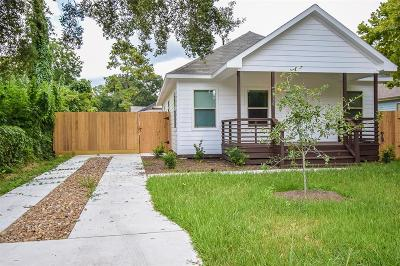 Single Family Home For Sale: 6710 Bunche Drive