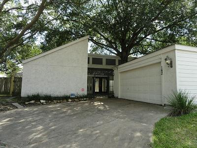 Houston Single Family Home For Sale: 12800 Briar Forest Drive #162
