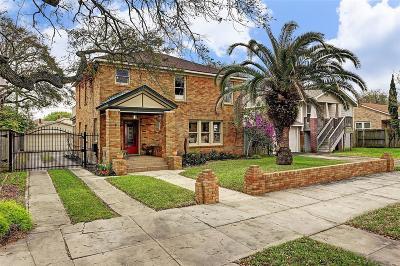 Galveston Single Family Home For Sale: 4515 Avenue N