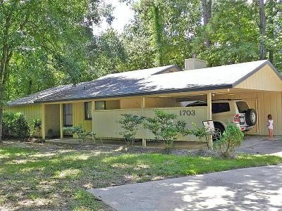 The Woodlands Single Family Home For Sale: 1703 N Red Cedar Circle