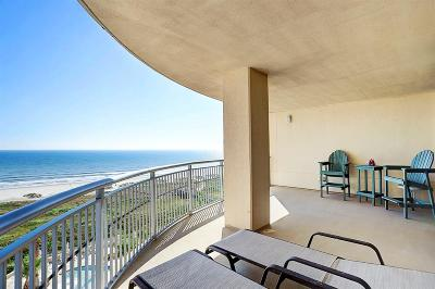 Galveston TX Mid/High-Rise For Sale: $595,000