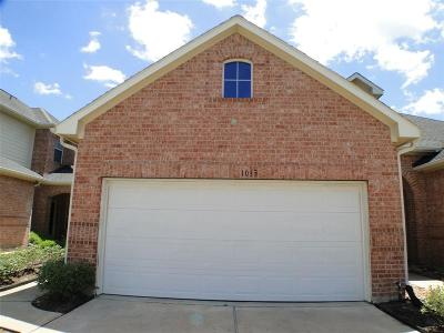 Harris County Rental For Rent: 1013 Sweet Pine Drive