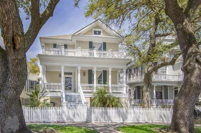 Galveston Single Family Home For Sale: 1324 Sealy Street