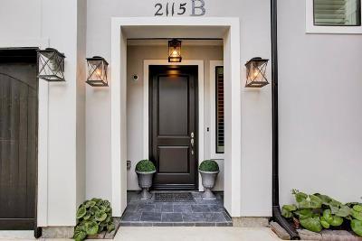 Condo/Townhouse For Sale: 2115 Sheridan #B