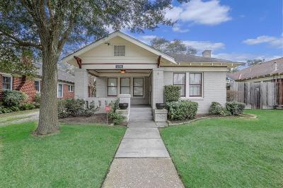 Houston Single Family Home For Sale: 3719 Julian Street