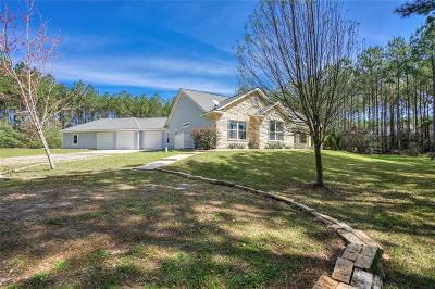 Grimes County Single Family Home For Sale: 10193 Amelia Drive